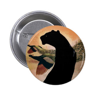 Panther Sunset Button