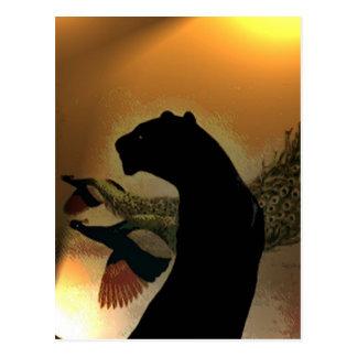 Panther Sunset Postcard