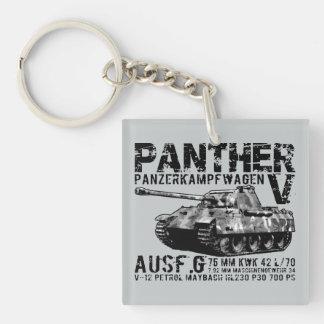 Panther Tank Acrylic Keychain
