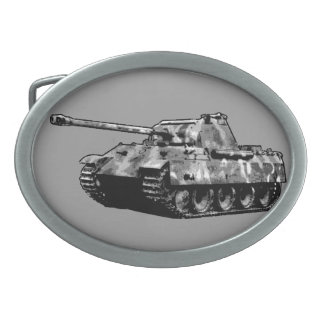 Panther Tank Belt Buckle