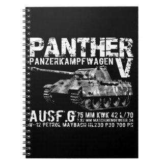 Panther Tank Spiral Photo Notebook