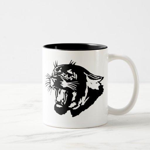 panther Two-Tone coffee mug