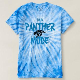 Panther Tye Dye T Shirt