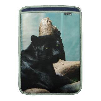 Panther with Piercing Eyes MacBook Air Sleeves