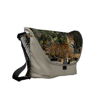 Panthera Jaguar Messenger Bag