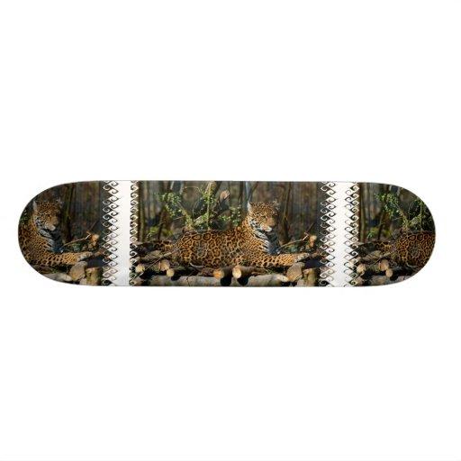 Panthera Jaguar Skateboard