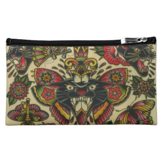 panthers and dagger cosmetic bag