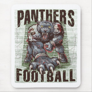 Panthers Football Rocks by Mudge Studios Mouse Pad