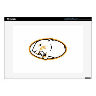 "Panthers Logo 15"" Laptop Decal"