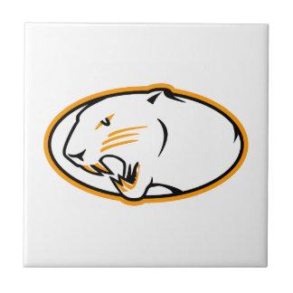 Panthers Logo Tile