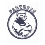 Panthers mascot post cards
