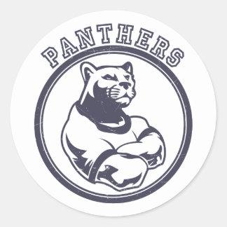 Panthers mascot stickers