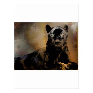 Panther's Pulse Postcard