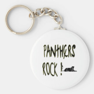 Panthers Rock! Keychain