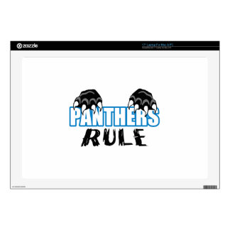 """Panthers Rule 17"""" Laptop Decal"""