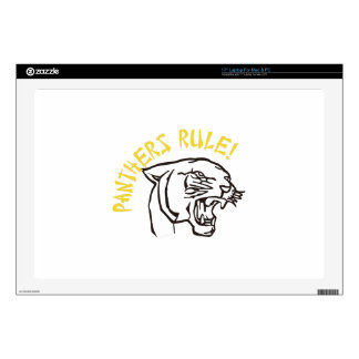 Panthers Rule Skins For Laptops