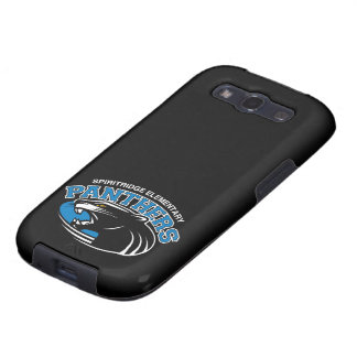 Panthers Samsung Galaxy Case (Black) Samsung Galaxy S3 Cases