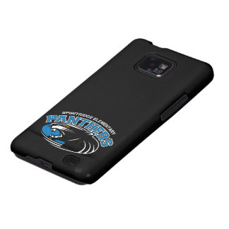 Panthers Samsung Galaxy Case (Black) Samsung Galaxy S2 Cases