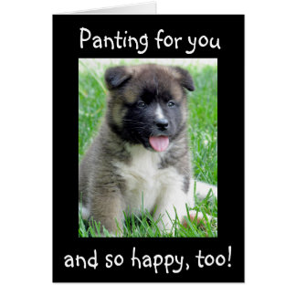 PANTING / HAPPY FOR YOU AT GRADUATION CARD