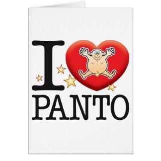 Panto Love Man Card