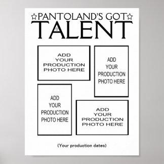 Pantoland's Got Talent Photo Memento Poster