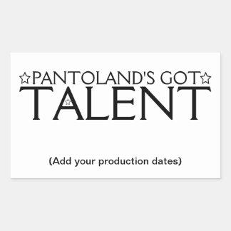 Pantoland's Got Talent Sticker