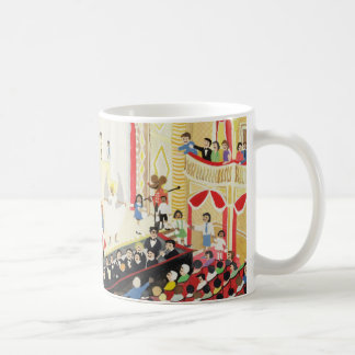 Pantomime Classic White Coffee Mug