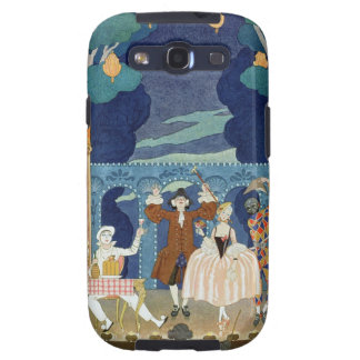 Pantomime Stage, illustration for 'Fetes Galantes' Galaxy SIII Covers