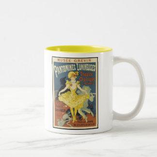 """""""Pantomimes"""" Two-Tone Coffee Mug"""