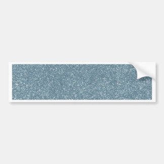 PANTONE Aquamarine baby blue with faux Glitter Bumper Sticker