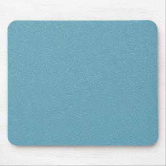 PANTONE Aquamarine babyblue with faux fine Glitter Mouse Pad