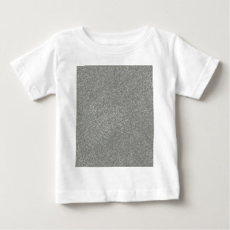 PANTONE Glacier Gray with faux Glitter Tee Shirt
