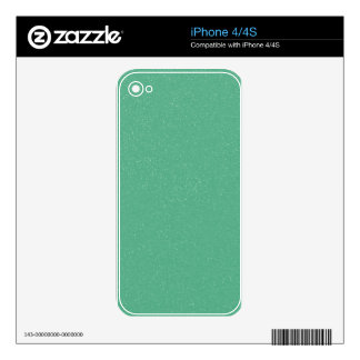 PANTONE Lucite Green with faux fine Glitter Skins For iPhone 4