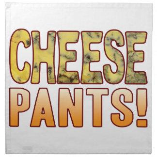 Pants Blue Cheese Cloth Napkin