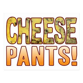 Pants Blue Cheese Postcard