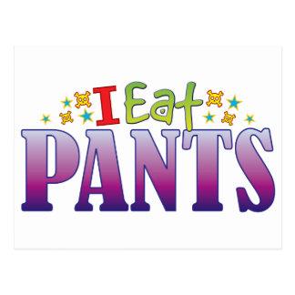 Pants I Eat Postcard