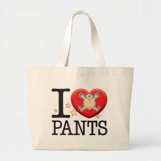 Pants Love Man Jumbo Tote Bag