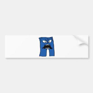 Pants of Rage Bumper Sticker