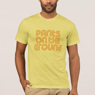 Pants on the Ground Orange T-Shirt