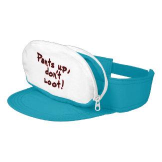 Pants up, don't loot! visor