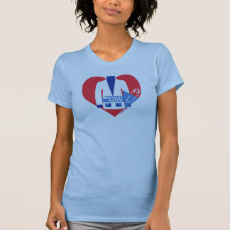Pantsuit Nation ~ Safety Pinned To My Heart Shirt