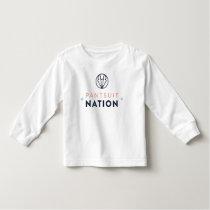 Pantsuit Nation Toddler Long Sleeve Shirt