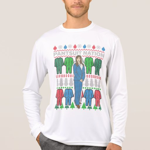 Pantsuit Nation Ugly Christmas Sweater T-Shirt