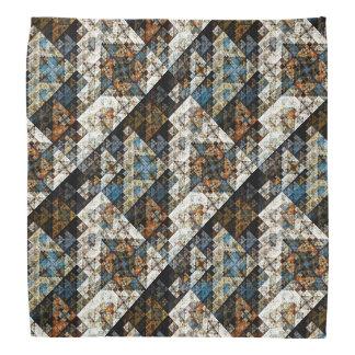 Pañuelo abstracto geométrico del modelo de la natu bandanas