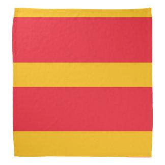 Pañuelo amarillo cardinal y de oro