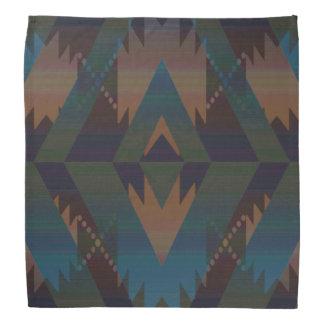 Pañuelo azteca tribal del diseño del sudoeste del bandanas