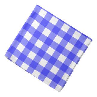 Pañuelo azul de la guinga bandanas