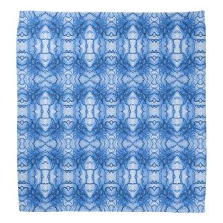 """Pañuelo azul del diseño del """"nervio"""" bandanas"""