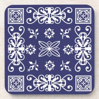 Pañuelo azul posavasos
