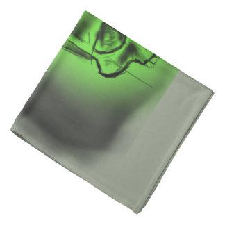 Pañuelo calavera Verde Bandanas